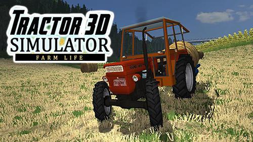 Tractor simulator 3D: Farm life icône