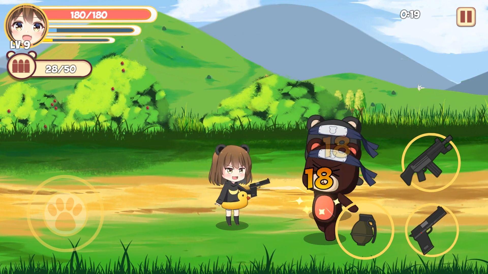 Pandaclip: The Black Thief - Action RPG Shooter captura de tela 1
