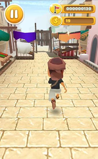 Arcade-Spiele Desert prince runner für das Smartphone