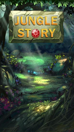 Jungle story: Match 3 game Screenshot