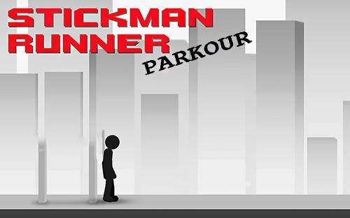 Stickman parkour runner Screenshot