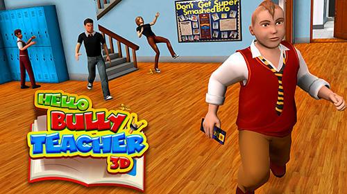 Hello bully teacher 3D icon