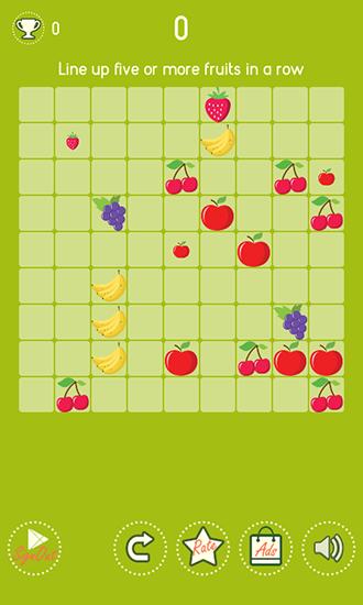 Arcade Fruit lines für das Smartphone