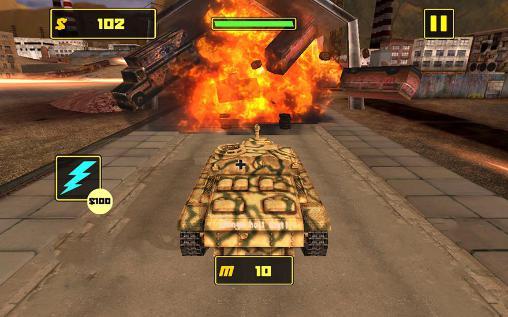 Simulator-Spiele Tank fighter league 3D für das Smartphone