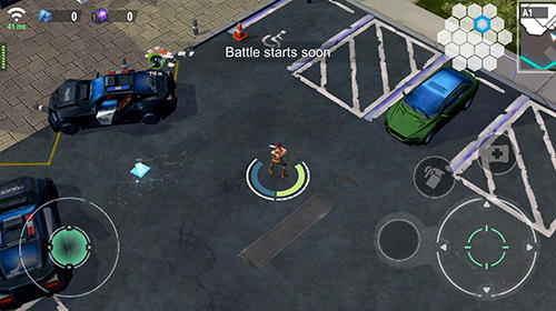 King hardcore: Battle royale shooter para Android