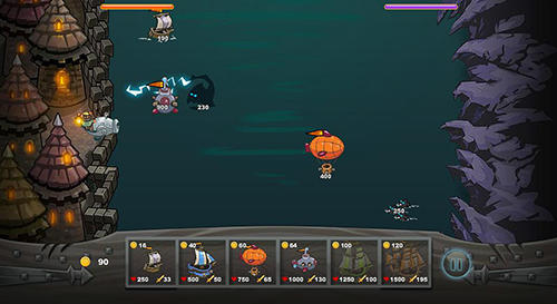 Ships vs sea monsters Screenshot