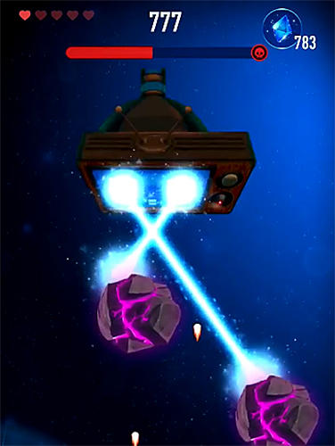Arcades Rocket X: Galactic war pour smartphone