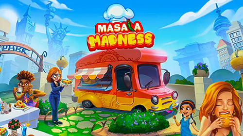 Masala madness: Cooking game captura de tela 1