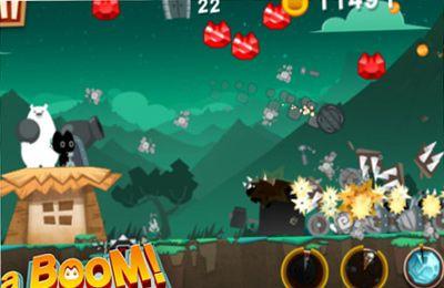 Screenshot BOOM! auf dem iPhone