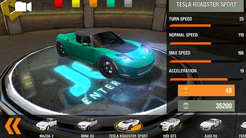 Auto racing in English