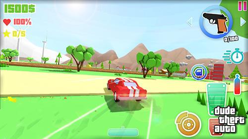 Dude theft auto: Open world sandbox simulator скріншот 1