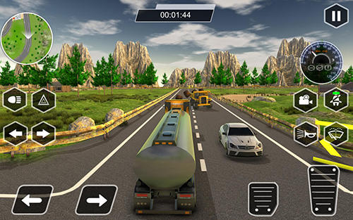 Driving simulator games Dr. Truck driver: Real truck simulator 3D in English