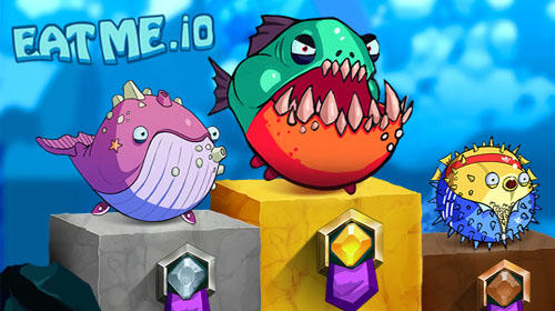 Eatme.io: Hungry fish fun game captura de pantalla 1