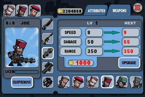 Super crazy wars for iPhone for free