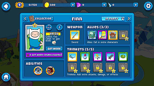 Strategie Bloons adventure time TD für das Smartphone