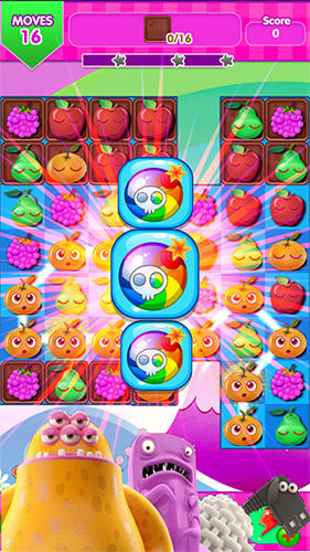 Jewel fruit mania für Android