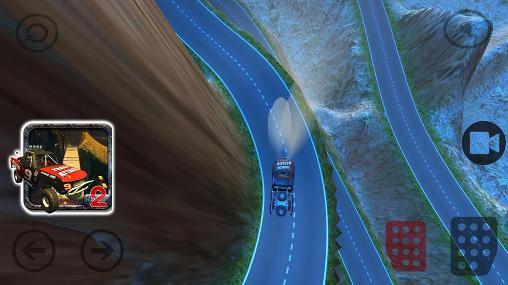 Hill climb racing 4x4: Rivals game screenshot 1