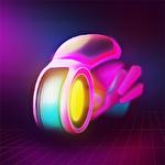 Glow wheels icon