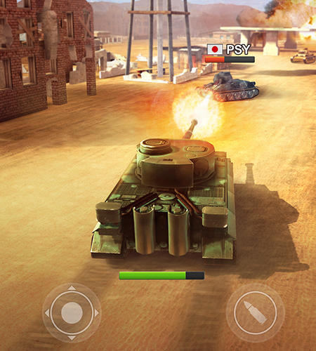 Shooters War machines: Tank shooter game auf Deutsch