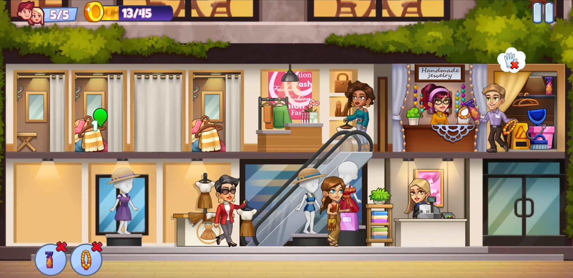 Android用 Fashion Shop Tycoon