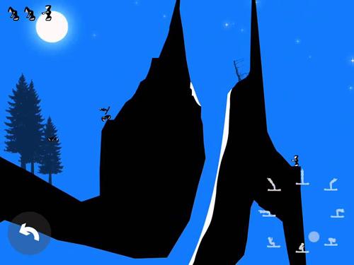 Krashlander: Fahre Ski, Spring, Crashe! für iPhone