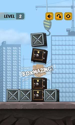 Juegos de lógica Swap the box para teléfono inteligente
