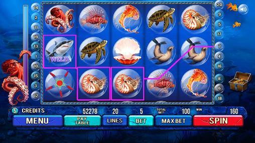 Under the sea: Slot machine auf Deutsch