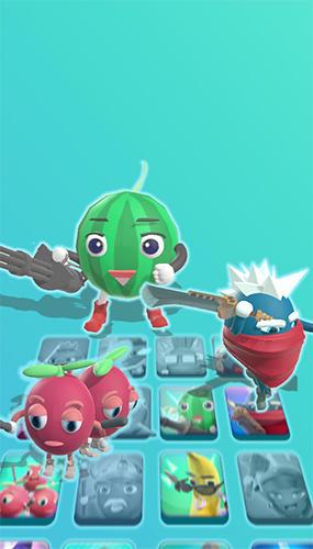 Fruitopia: Blueberry vs. raspberry Screenshot