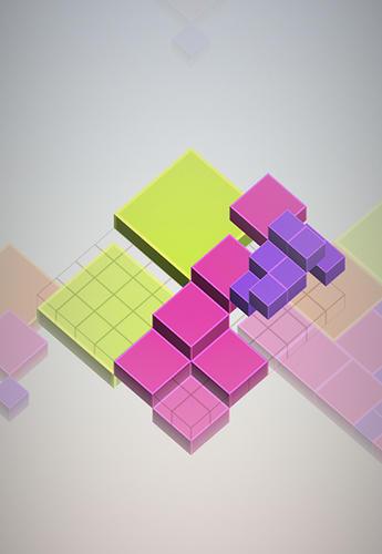 Isometric squared squares Screenshot