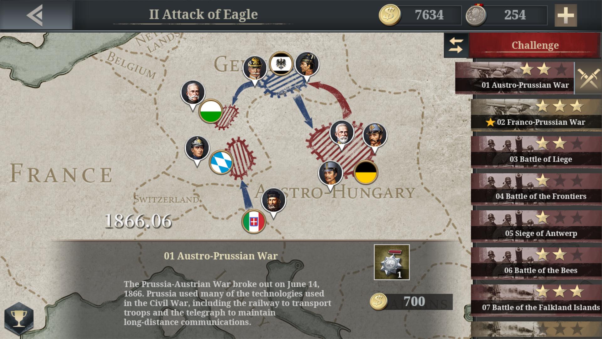 European War 6: 1914 captura de tela 1