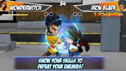 Super hero fighters 2 für Android