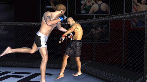 Screenshot EA sports: UFC on iPhone