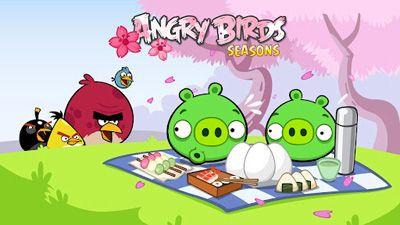 Angry Birds Seasons: Cherry Blossom Festival Screenshot