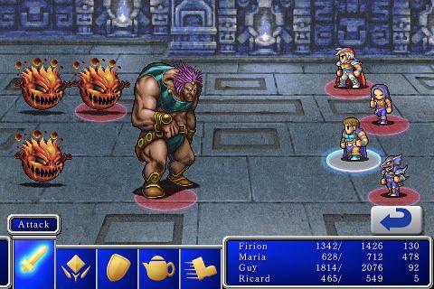 Final Fantasy 2 für iPhone