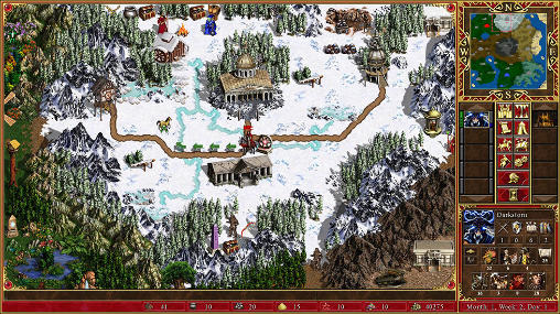 Android spiel Might and magic: Heroes 3 - HD edition