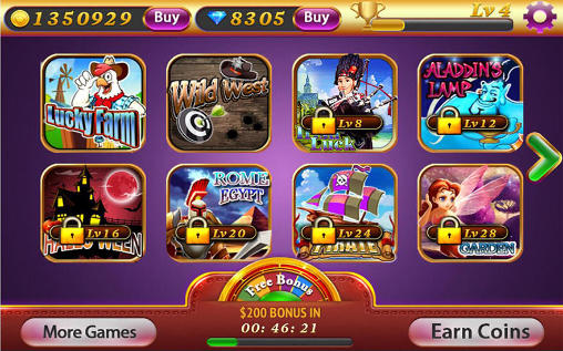 Slot machines pour Android