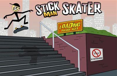 логотип Скейтер Стикмэн