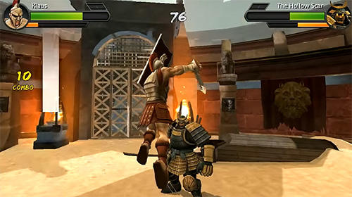 Gladiator fight: 3D battle contest para Android