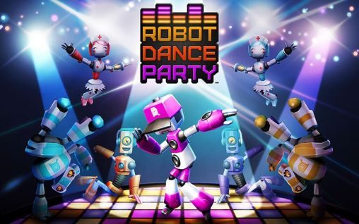 Robot dance party Symbol