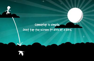 Arcade-Spiele: Lade Vogelspringer auf dein Handy herunter
