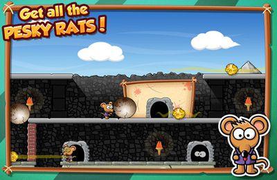 Fange die Ratte für iPhone