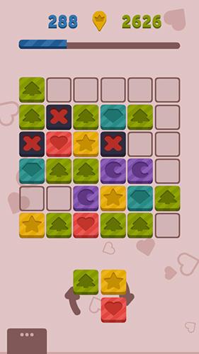 Logikspiele Placid place: Color tiles für das Smartphone