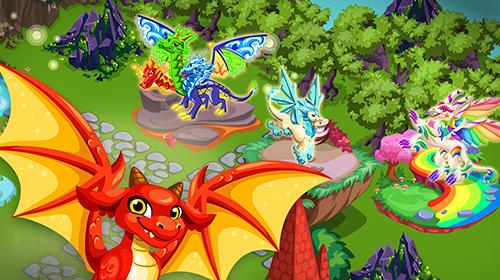 Spiele für Kinder Dragon story: Holidays auf Deutsch