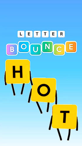 Letter bounce: Word puzzles icon