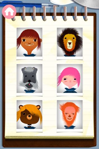 Arcade games: download Toca: Hair salon to your phone