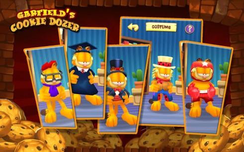 Basierend auf Zeichentrickfilm Garfield's cookie dozer auf Deutsch
