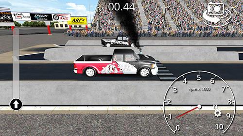 Drag racing games Diesel drag racing pro in English