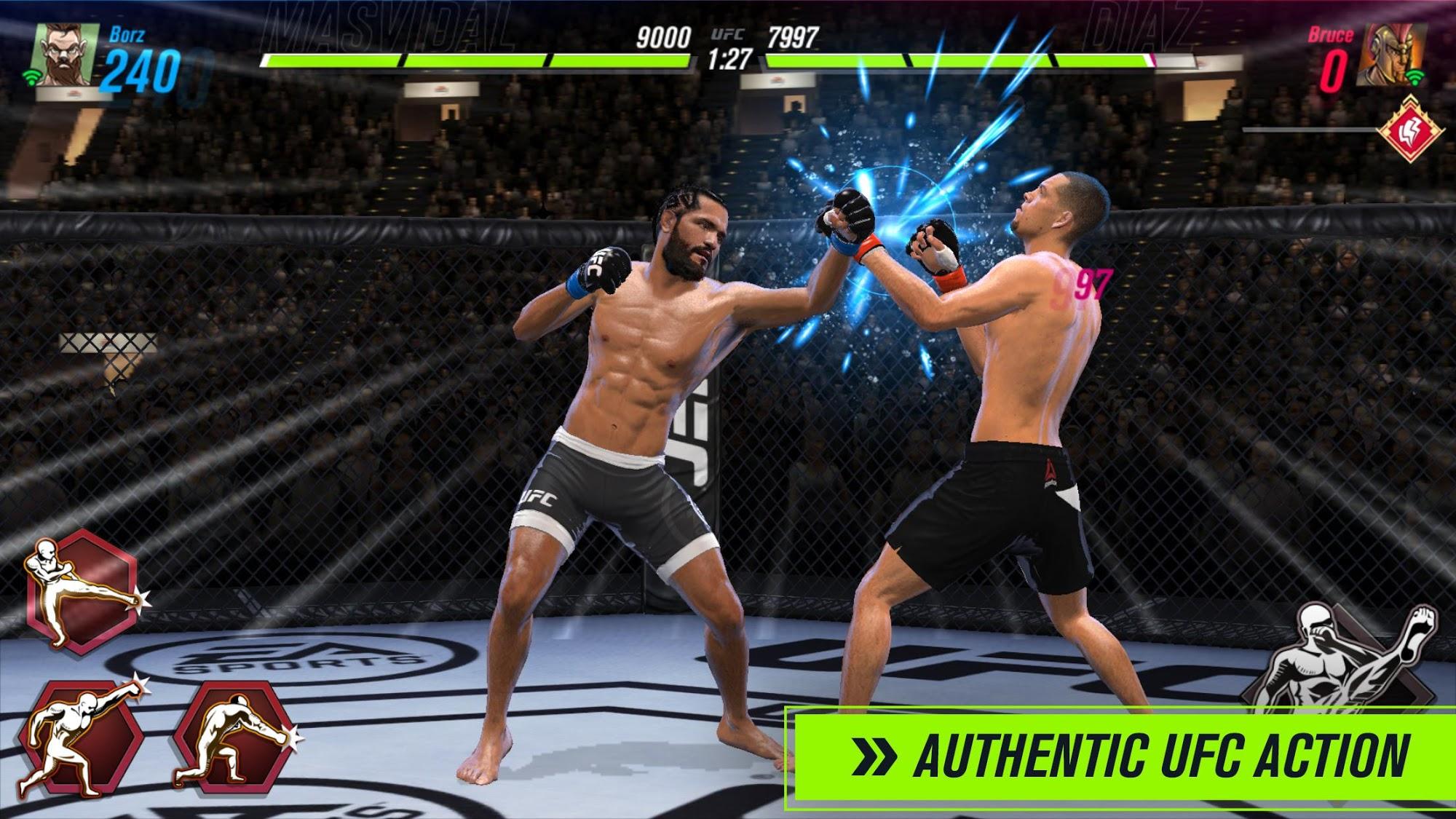 UFC 2 Mobile スクリーンショット1