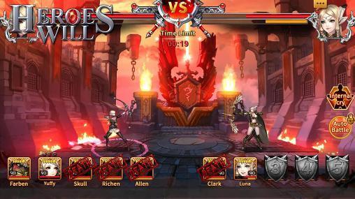 Strategische RPG-Spiele Heroes will auf Deutsch