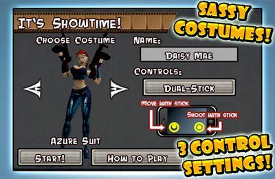 d'arcade: téléchargez Daisy Mae l'Exterminatrice des Extraterrestres sur votre téléphone